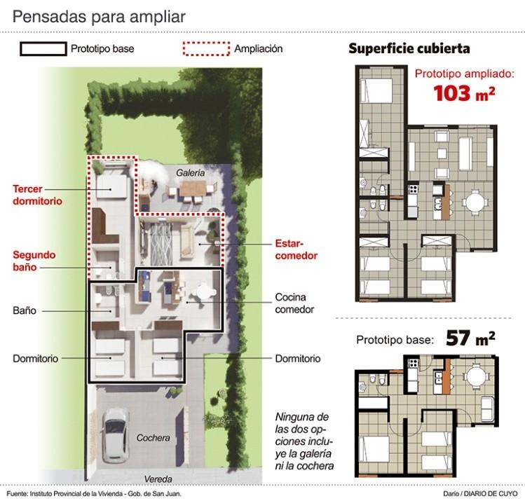 A principios de 2018 el ipv empieza a construir 5 barrios for Casas procrear precios