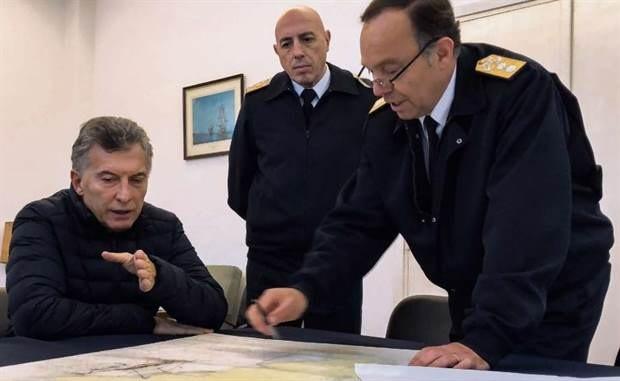 Así preparan operativo de rescate del submarino ARA San Juan — Fotos exclusivas