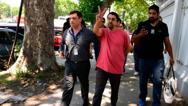 Fernando Esteche se entregó a la Justicia — Causa AMIA