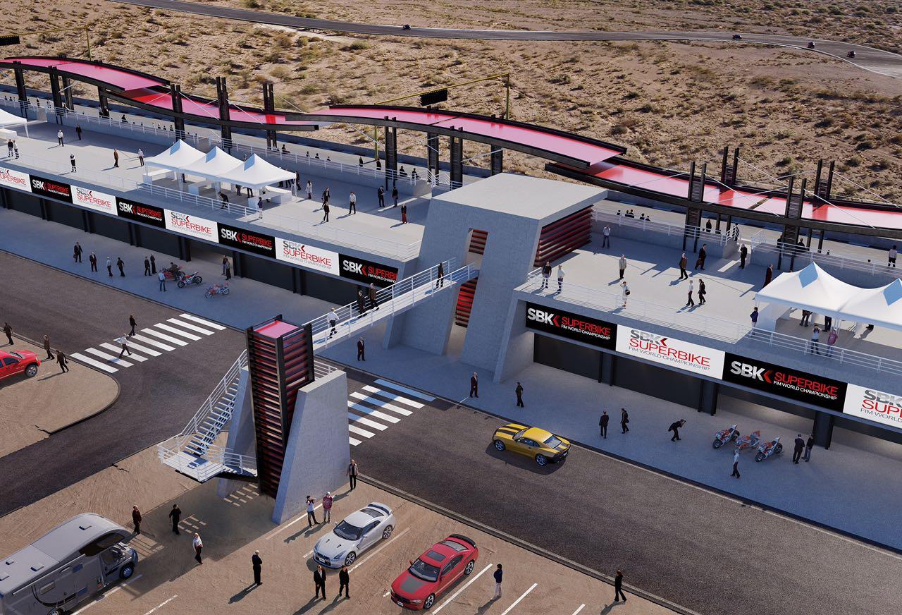 Circuito Villicum : Avanza todo para el mundial de superbike en octubre próximo diario