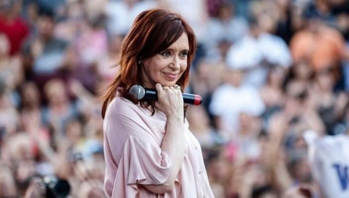 Cristina se mostró en modo de campaña para 2019