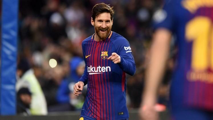 Con gol de Messi, Barcelona vence a Levante