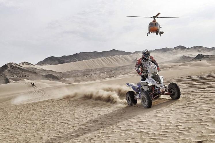 Rally Dakar 2018 | Alexis Hernández sube al tercer lugar de la clasificación