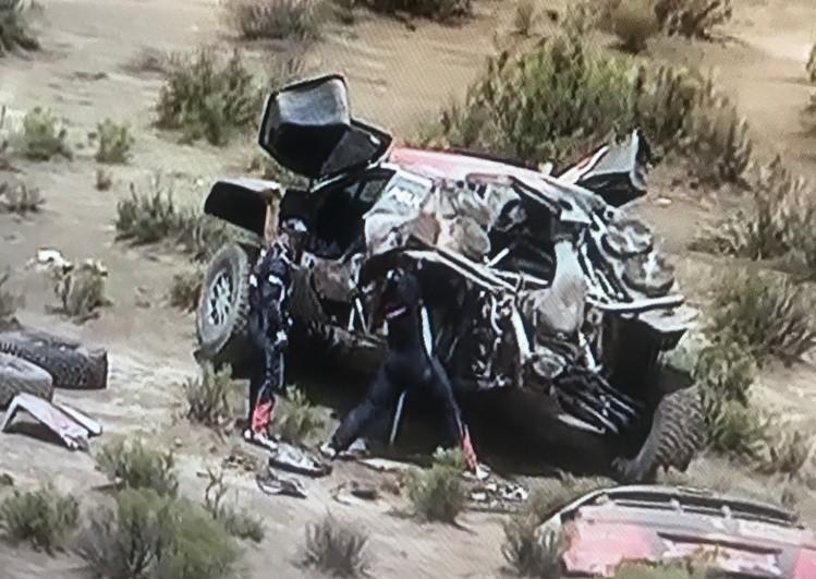 Pablo Quintanilla llegó quinto en una nueva etapa del Rally Dakar