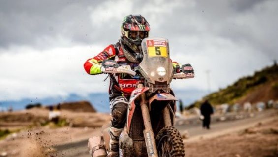 Joan Barreda gana en motos del Dakar