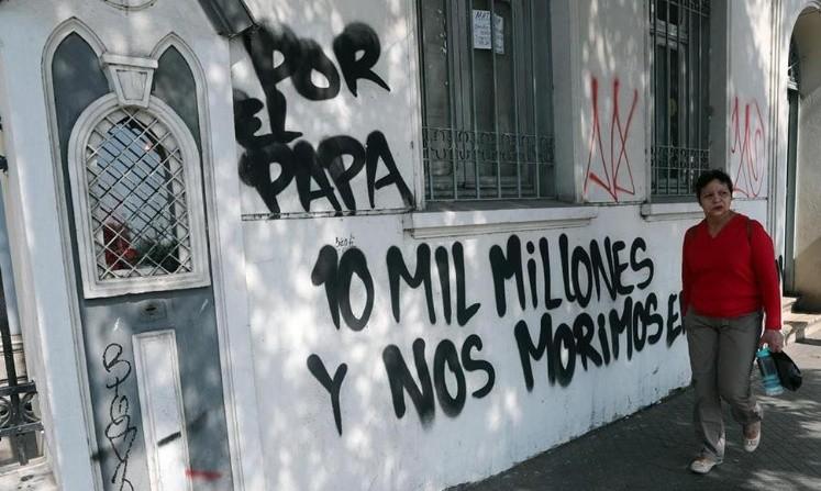 Peruanos en Santiago emocionados con su llegada — Papa Francisco