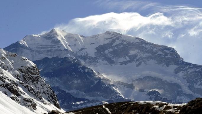 Hizo cumbre en el Aconcagua y murió mientras descendía