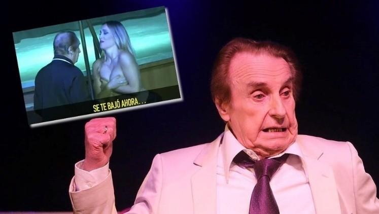 Al desnudo, las vedettes de Cocodrilo salieron a bancar a Santiago Bal
