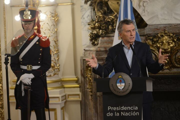 Macri dijo que