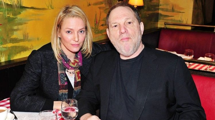 Sería Uma Thurman otra víctima de Harvey Weinstein
