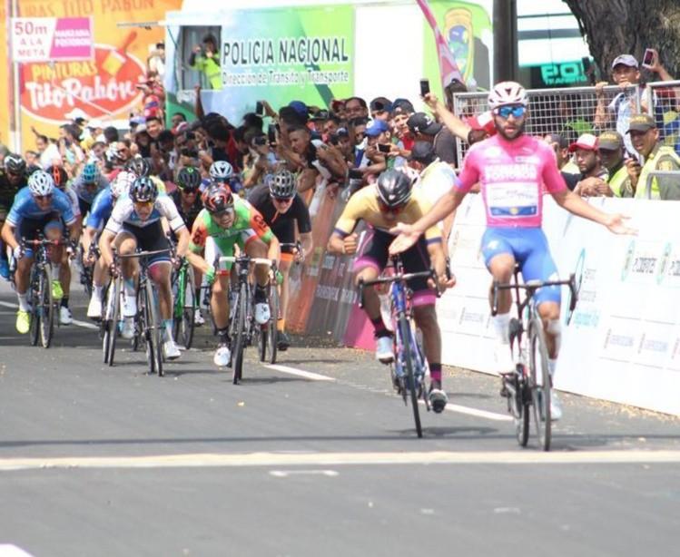 Gaviria gana segunda etapa de carrera Oro y Paz