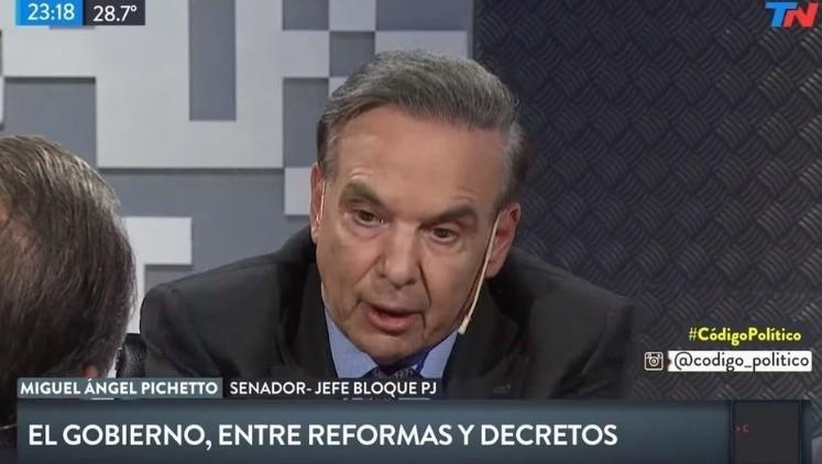 Pichetto: