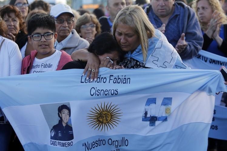 Revelan último mensaje de tripulantes de submarino desaparecido en Argentina