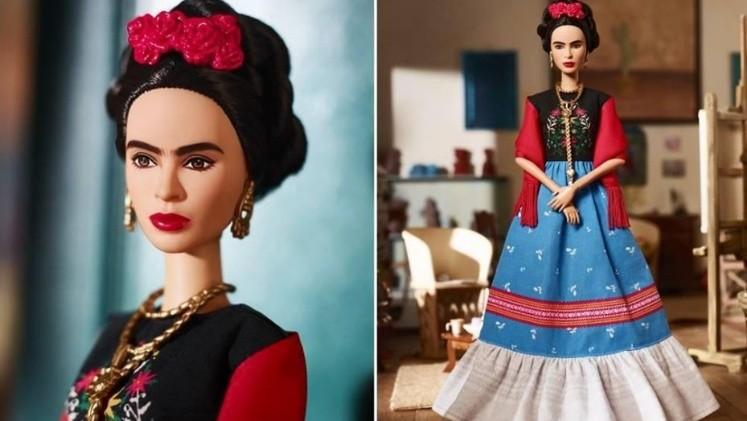 Lanzará Barbie muñeca de Frida Kahlo