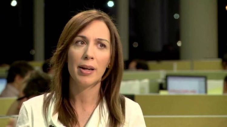 Detuvieron a un policía por amenazar de muerte a María Eugenia Vidal