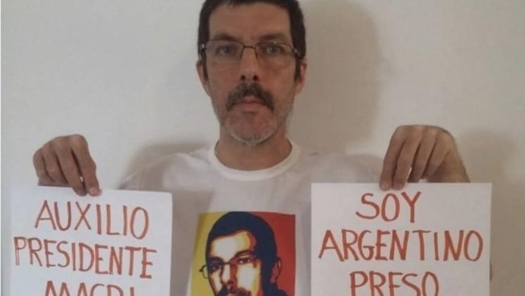 El único preso político argentino del régimen de Maduro logró escapar