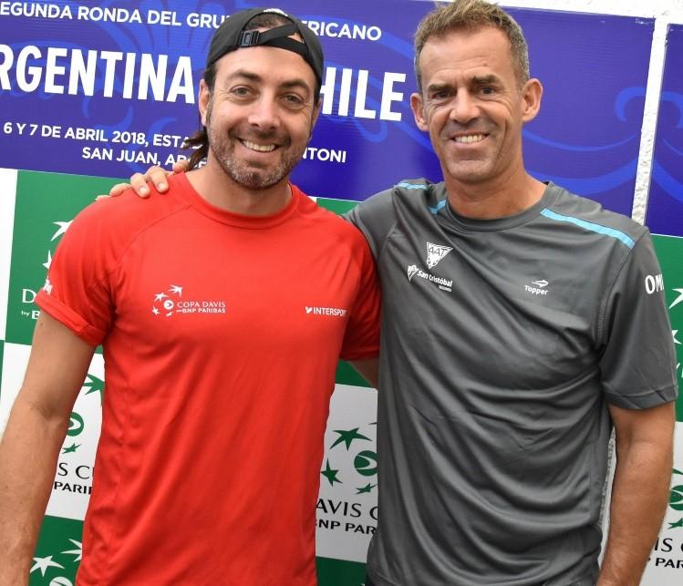 Argentina venció a Chile y jugará el repechaje de la Copa Davis