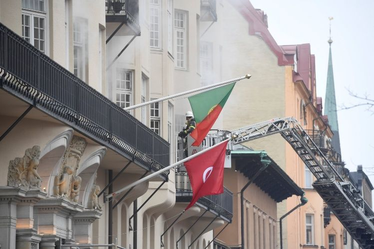 Un incendio obligó a evacuar la embajada argentina en Suecia