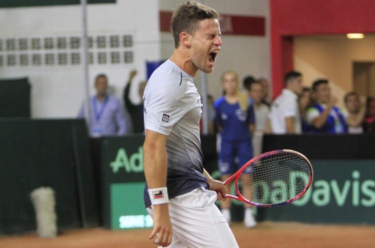 Argentina quiere sacar ventaja ante Chile en el dobles — Copa Davis
