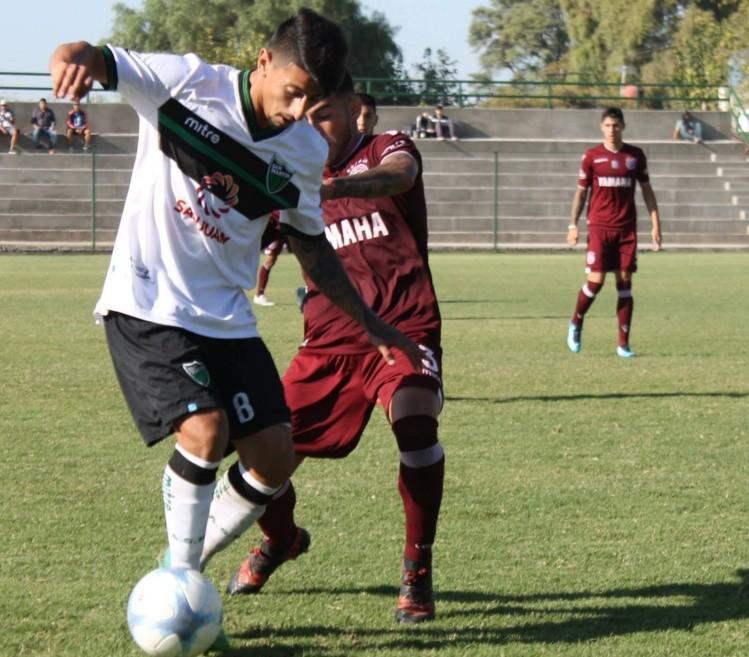 Lanús igualó 1-1 en su visita a San Martín (SJ)