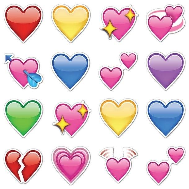 el significado de los colores de corazones