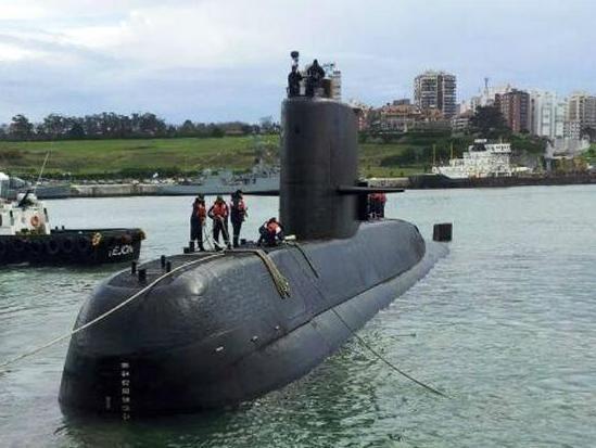 Argentina confirma que submarino ARA San Juan intentó comunicarse tras explosión