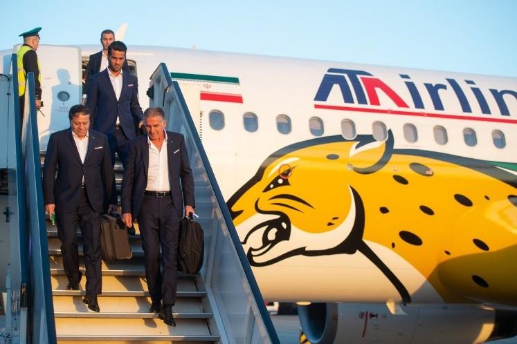 Irán ya esta en Rusia: primera selección que llegó para el Mundial