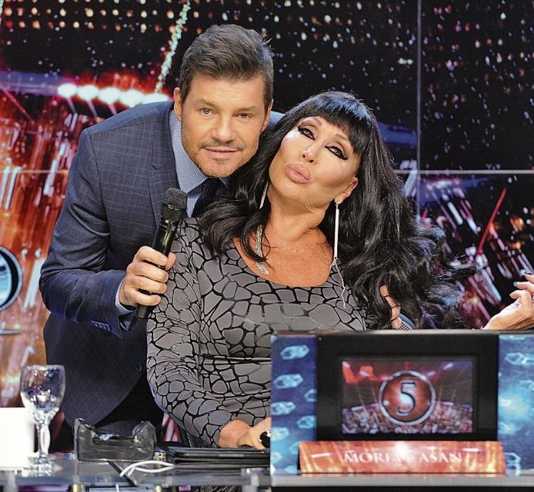 Moria aniquiló a Marcelo Tinelli: