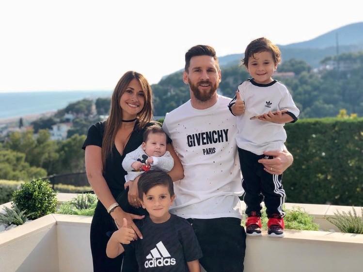 Antonela Roccuzzo y su amoroso mensaje para Messi en su cumpleaños