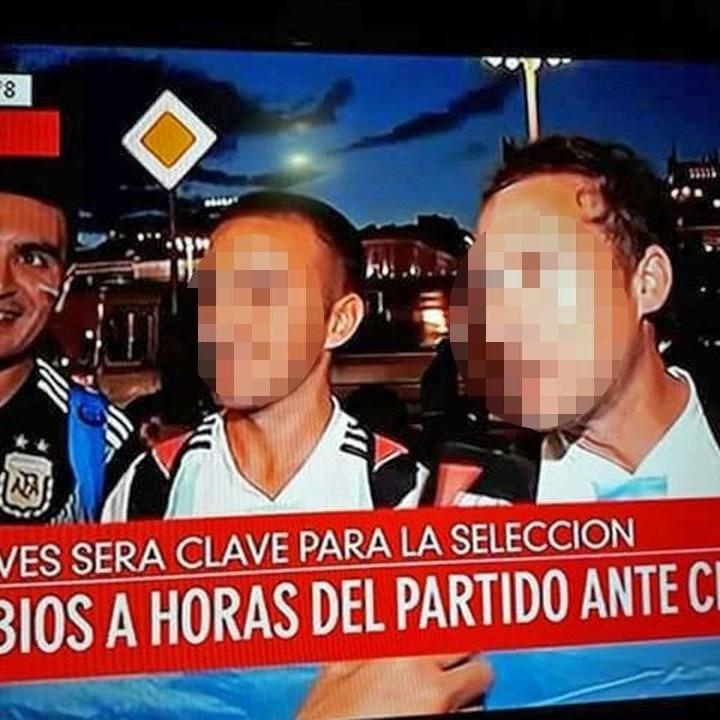 Docente argentino pidió licencia psiquiátrica y se fue para el Mundial