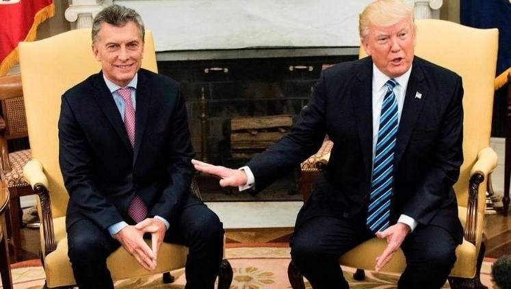 Trump volvió a respaldar a Macri