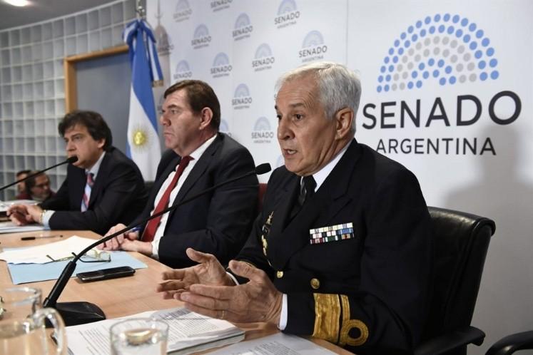 Revelan que el submarino intentó comunicarse tres veces — ARA San Juan