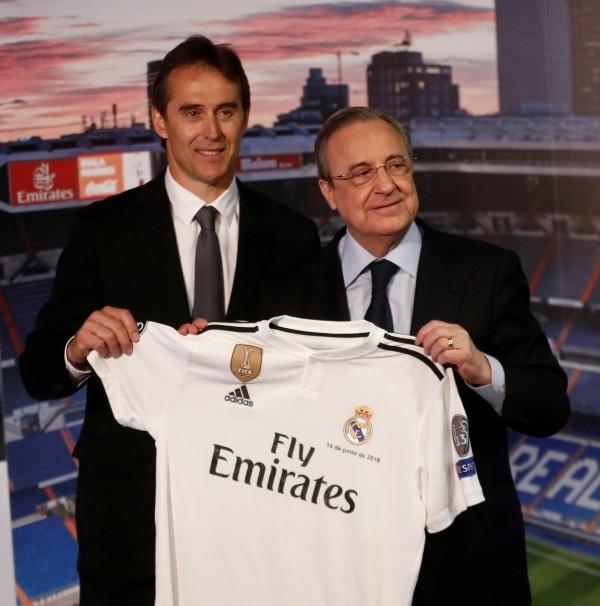 Las palabras de Julen Lopetegui tras primera práctica en Real Madrid