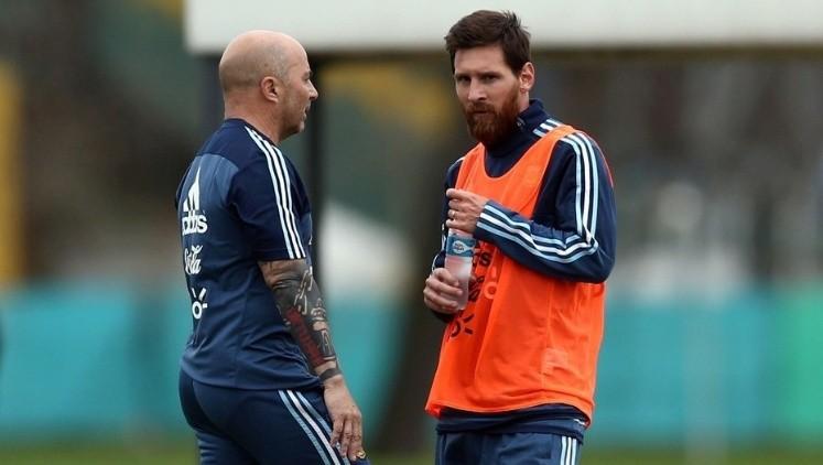 Los jugadores de Argentina a Sampaoli: