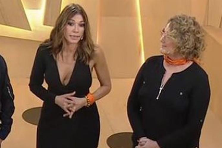 Por qué usaron pañuelos naranjas Verónica Llinás y Catherine Fulop