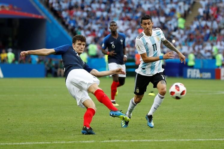 Gol de Pavard a Argentina elegido como el mejor de Rusia 2018