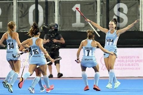 Las Leonas ganaron y pasaron a cuartos de final del Mundial