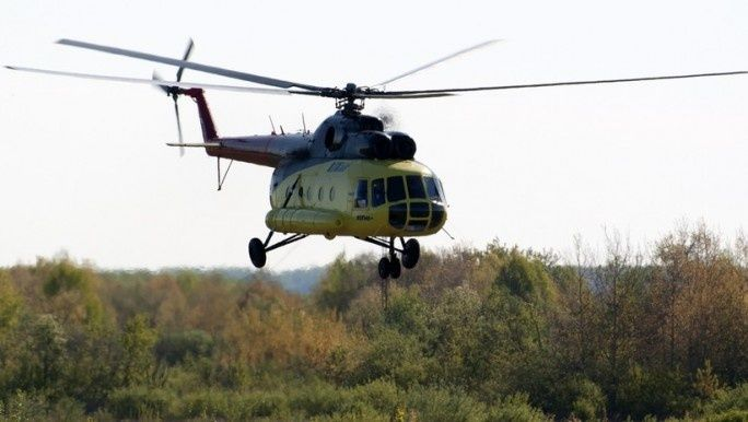 Mueren 18 trabajadores al estrellarse un helicóptero