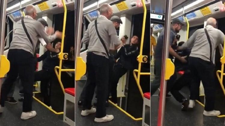 Intentaron tirarlo del tren en movimiento porque escuchaba música muy fuerte