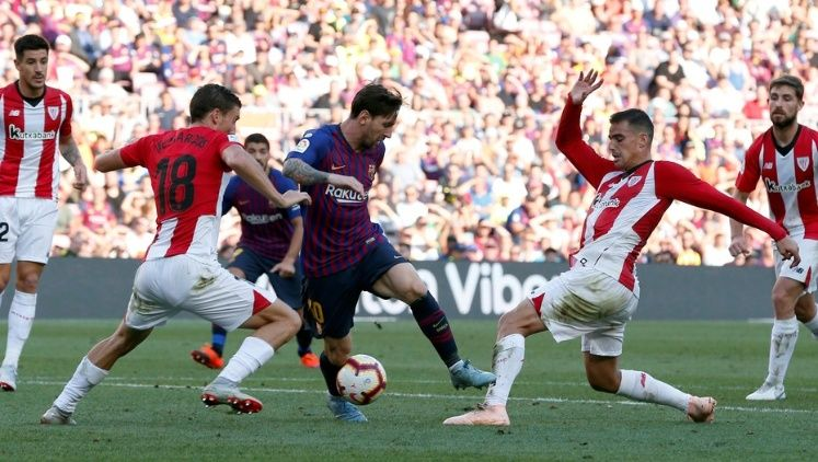 Barcelona rescató un empate de local con el Athletic Bilbao - Somos Deporte