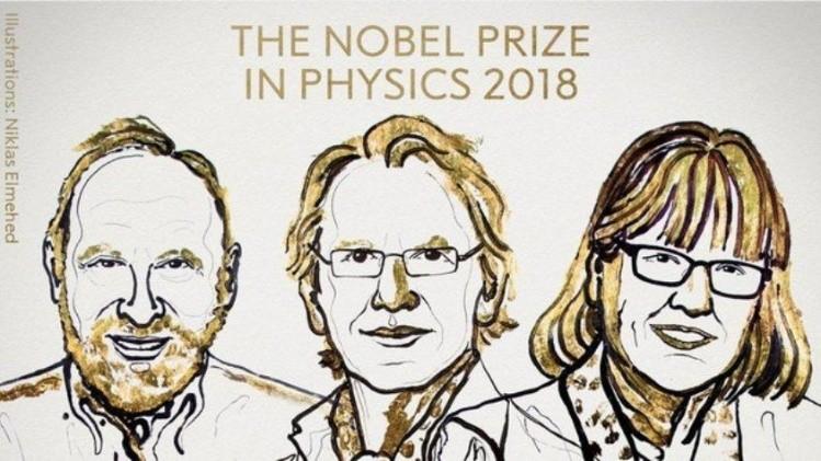 Expertos en láser ganan Nobel de Física; mujer hace historia