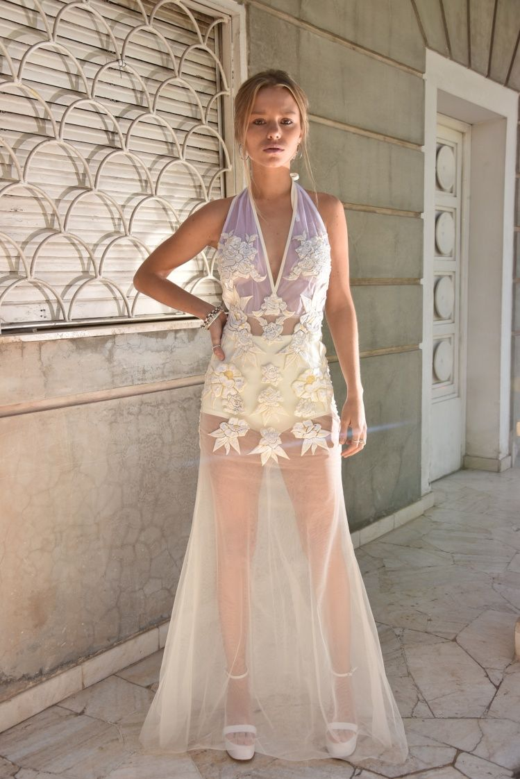 Vestidos para fiestas bordados