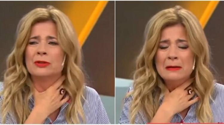 Mercedes Ninci lloró en vivo por la situación económica del país - Actualidad