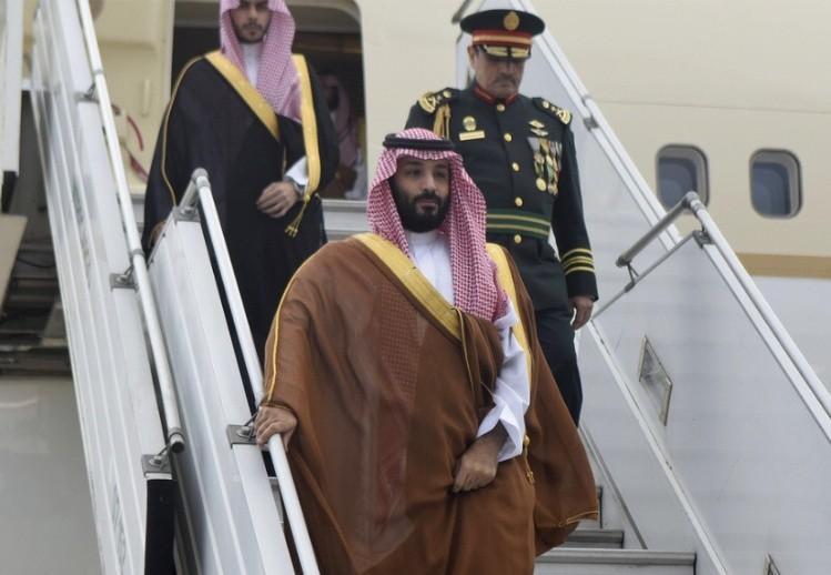 G-20: llegó el príncipe y su seguridad está en alerta máxima