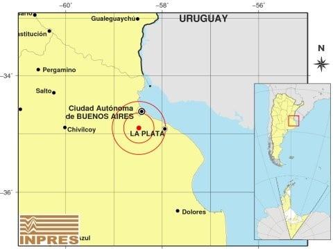 Temblor en Buenos Aires