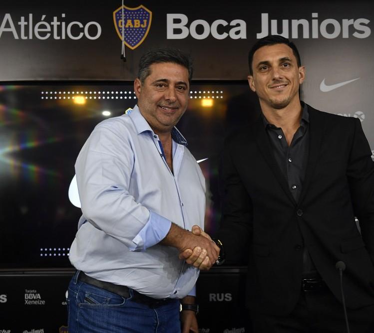 Mundo Boca: Nicolás Burdisso es el nuevo manager de Boca