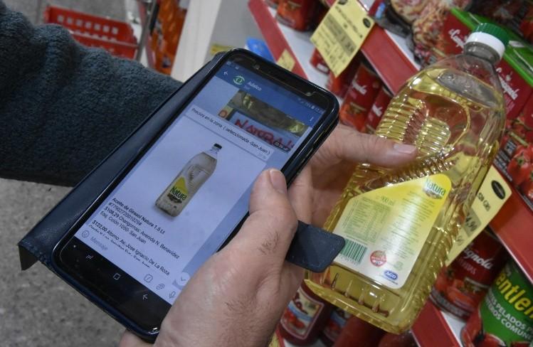 AdelcoBot: En cinco meses  se fue casi al doble la brecha de precios entre los alimentos