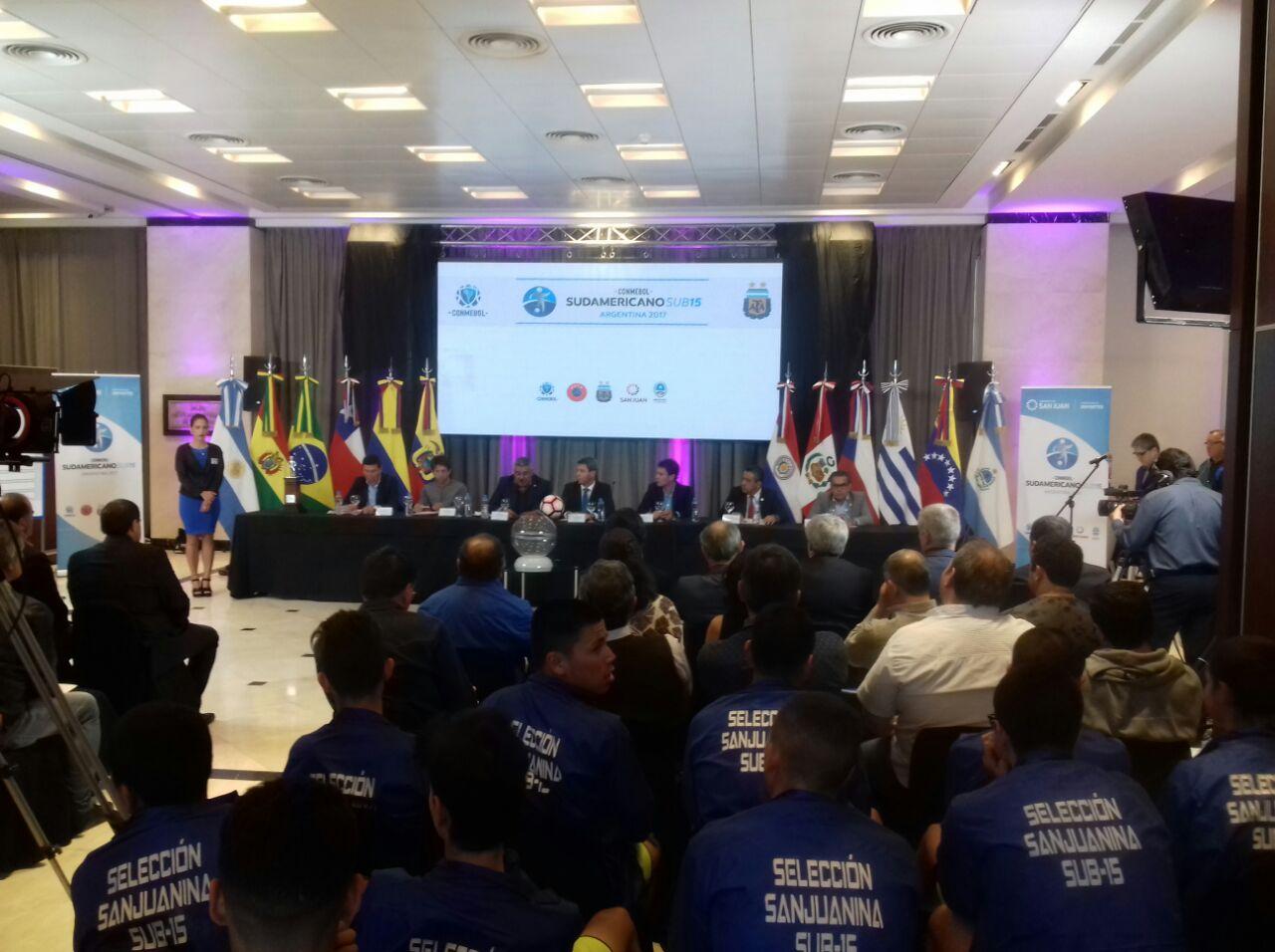 Vinotinto sub-15 conoció su destino en el Sudamericano