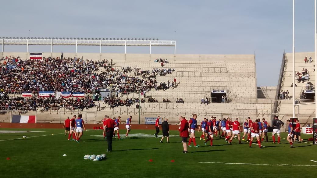 Los Pumas no pudieron con el poderío galés en un Bicentenario casi repleto - Los Pumas en San Juan