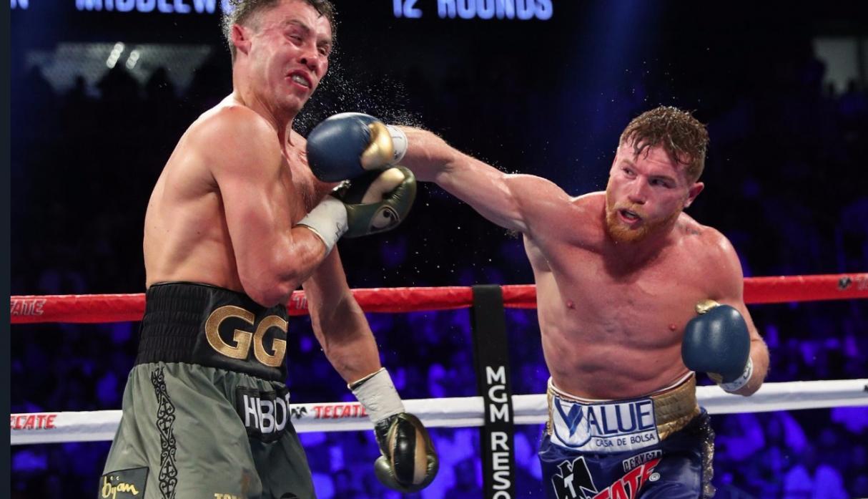 Canelo Álvarez derrotó a GGG Golovkin y le arrebató tres coronas mundiales